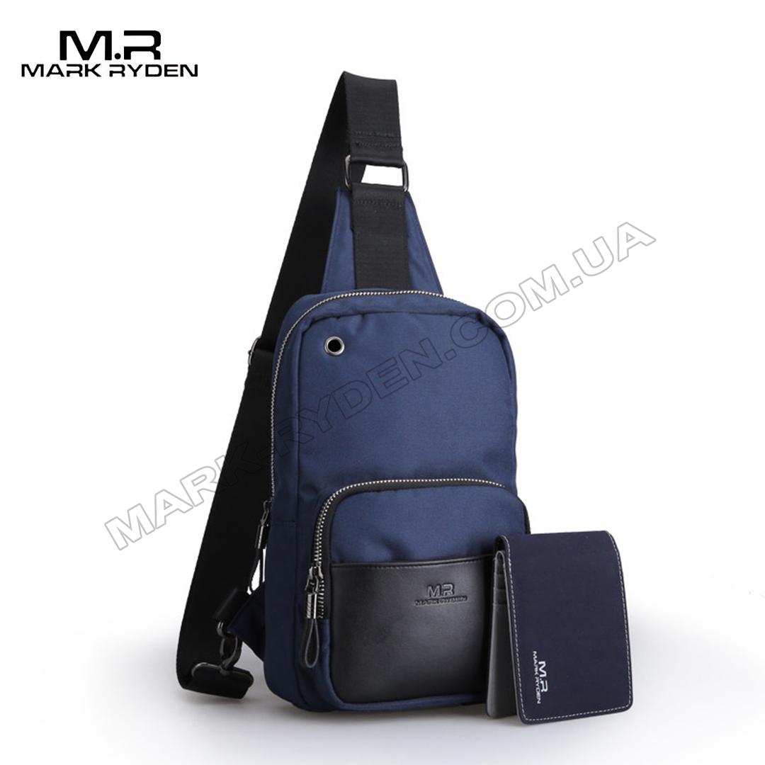 Кроссбоди сумка Mark Ryden MiniBerne MR5653 DarkBlue
