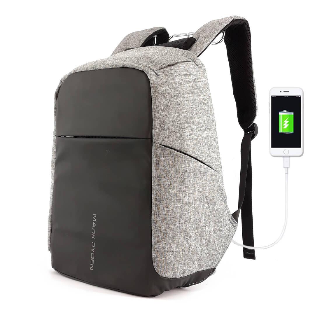 Backpack Mark Ryden Safe MR5815ZS Gray