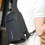 Рюкзак з одною лямкою Mark Ryden Mini Bobby MR5898 Black