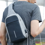 Рюкзак с одной лямкой Mark Ryden Mini Bobby MR5898 Gray