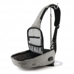 Backpack with one strap Mark Ryden Mini Bobby MR5898 Gray