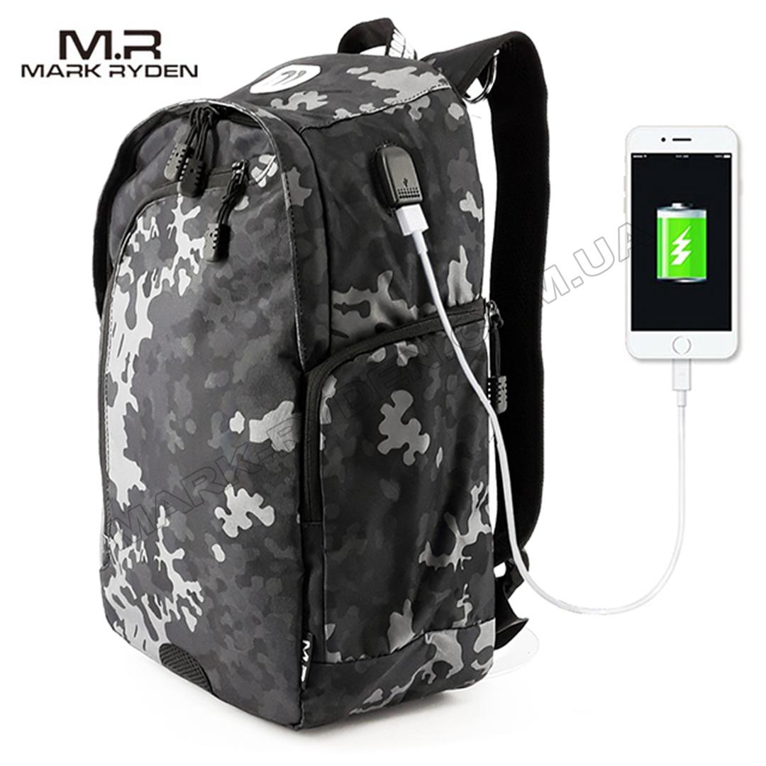 0e735c30b586 Рюкзак Mark Ryden Allroad MR6001 CamouflageUSB Black - Купить в ...