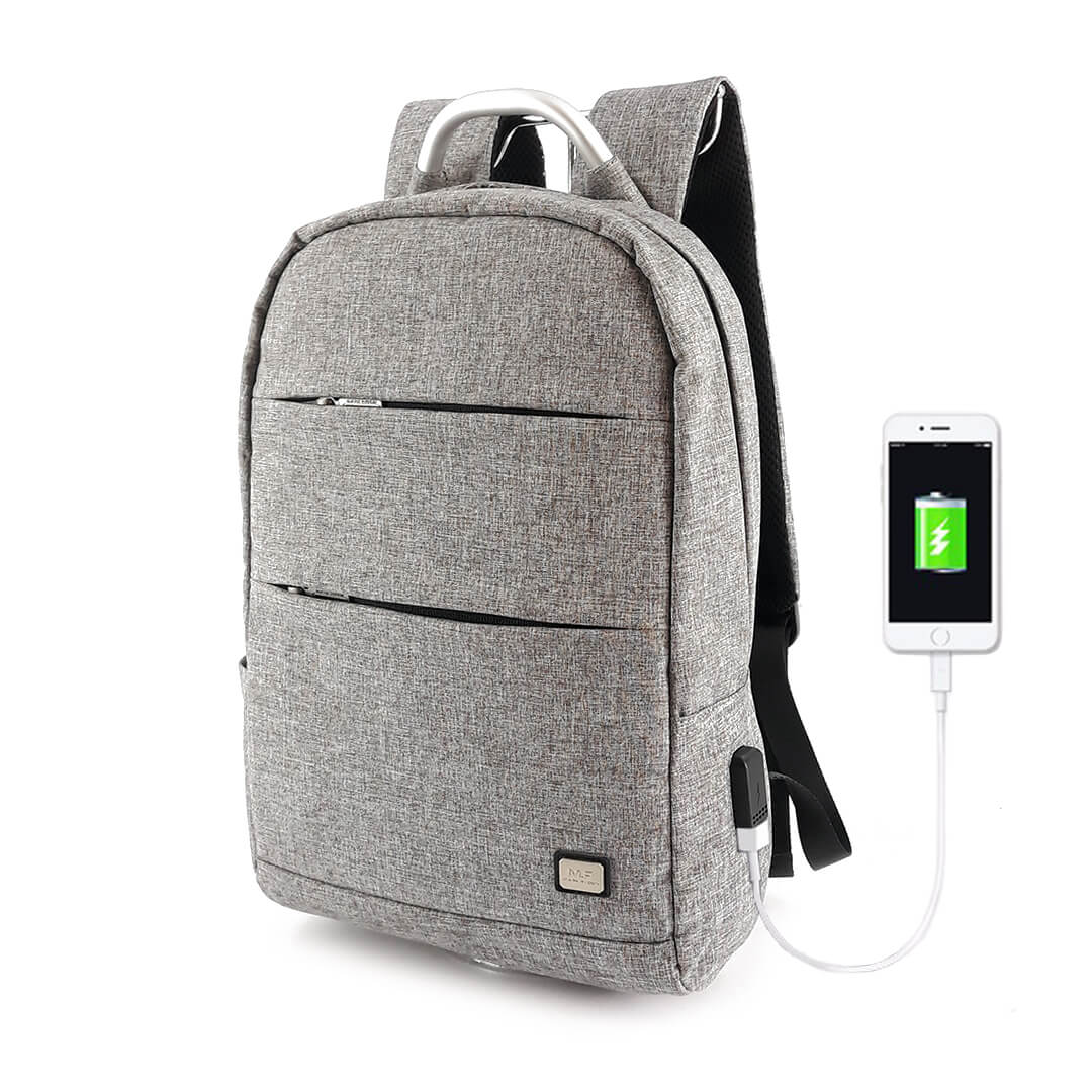 Backpack Mark Ryden Oxford MR6320 Gray One-layer
