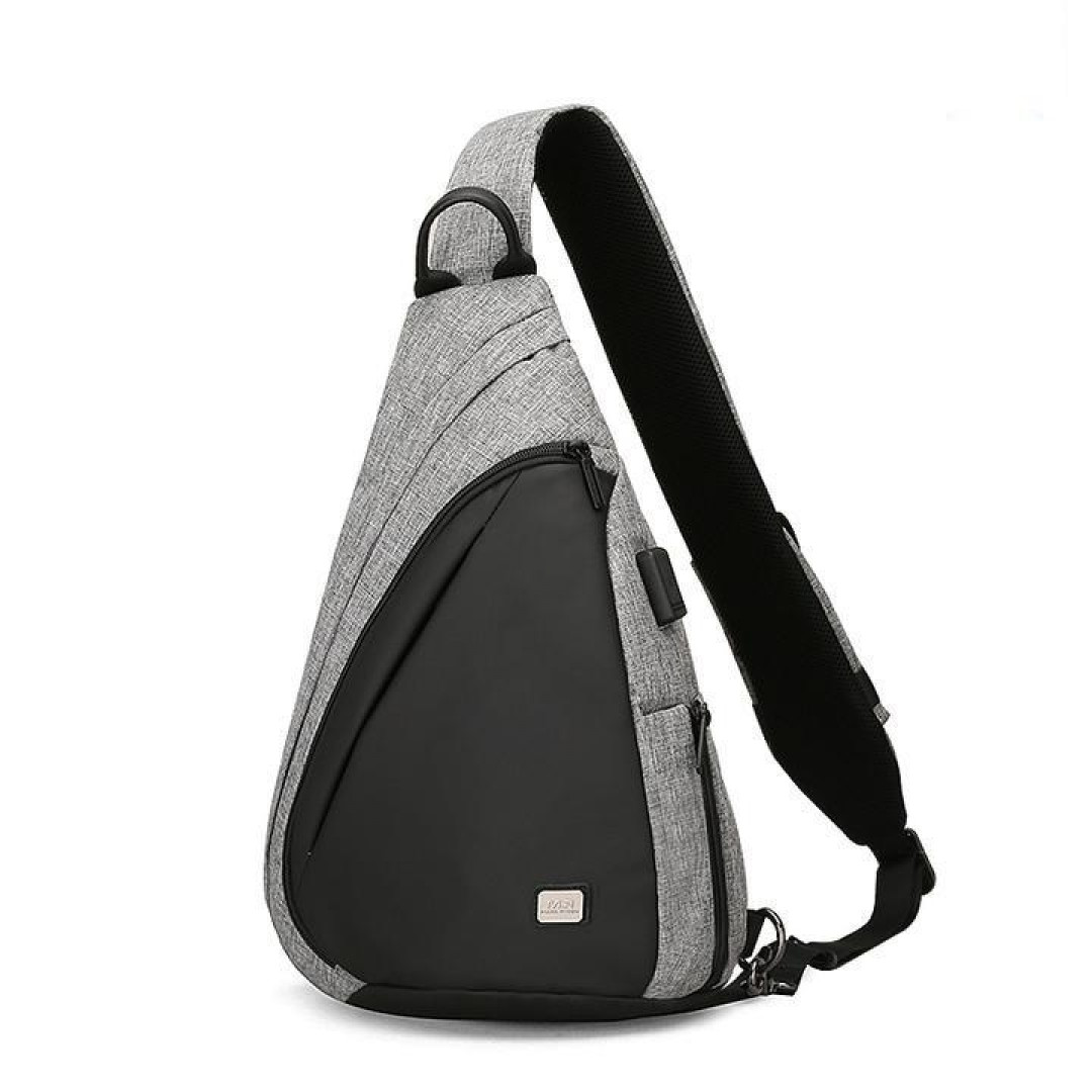 Backpack with one strap Mark Ryden Space MR6847 Gray