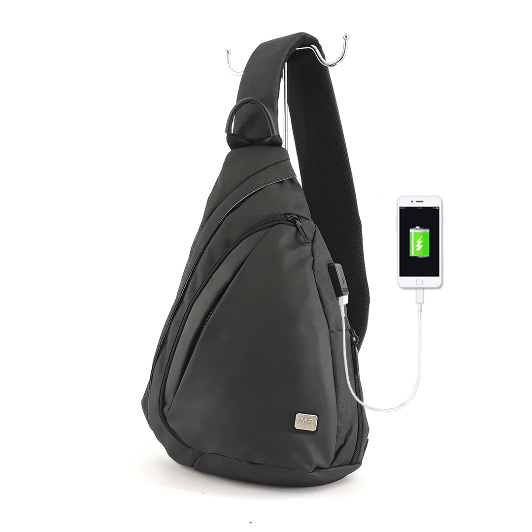 Backpack with one strap Mark Ryden Space MR6847 Black
