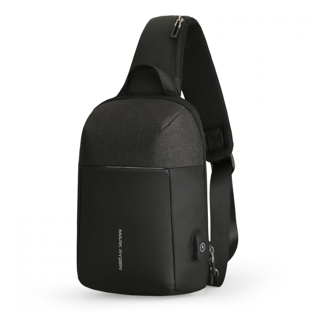 Backpack with one strap Mark Ryden MiniPanzer MR7000 Black