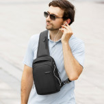 Backpack with one strap Mark Ryden Mini Infiniti MR7008 Black