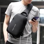 Рюкзак з однією лямкою Mark Ryden Mini Secret MR7056 Black