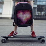 Рюкзак Mark Ryden Pixel MR9798 Pink с LED экраном