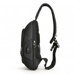 Backpack with one strap Mark Ryden Miniturtle MRK9084 Black