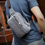 Shoulder Bag Muzee ME076 Gray
