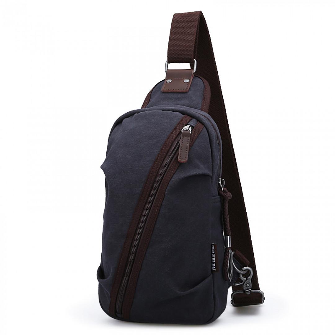 Shoulder Bag Muzee ME081 Dark blue