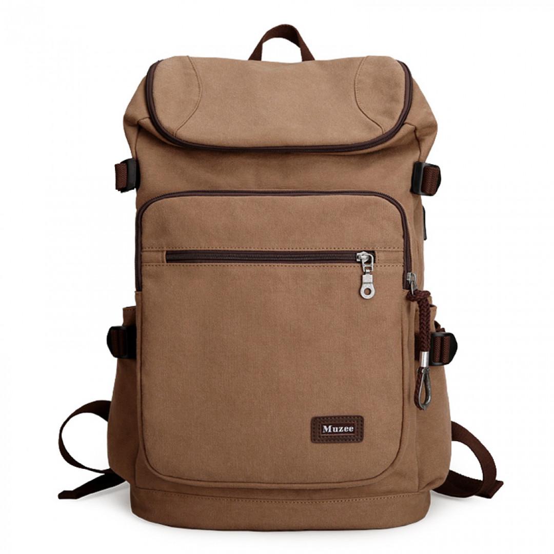 Backpack Muzee ME0888 Coffee
