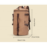 Travel bag Muzee ME1067 Coffee