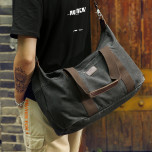 Travel bag Muzee ME1681 Black
