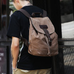 Backpack Muzee ME1705 Coffee