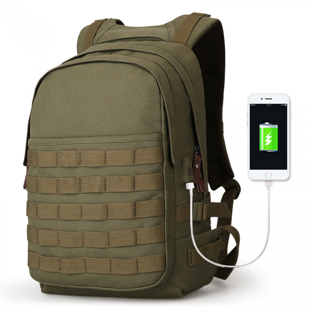 Backpack Muzee ME1721 Green