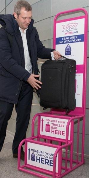 wizz air hand luggage allowance
